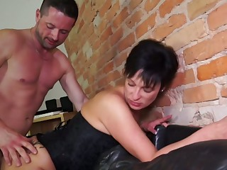 German mature tie the knot takes fast gumshoe in hard to believe butt hole cowgirl style