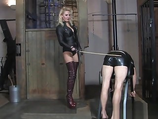 Goddess caning Driver