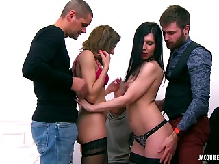 Sonia is fun and games with her friends and having group sex with them fortuitously