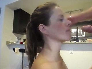 This slut's love of dick is incredible and she loves it up her butt