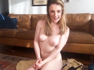 Amateur homemade video of Kate Kennedy flashing her boobies