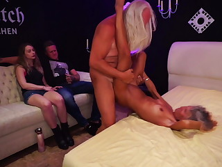 Stepdaughter Watches Parents Fuck