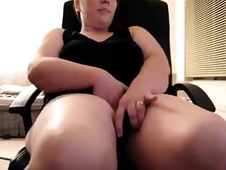 Catholic bating for cam with Vibe and Pillow Humping