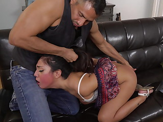Rough anal sex for Lexy Bandera's holiday