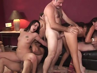 Lacey Luv &  Richelle Ryan &  Leah Luv &  Felony & almost Orgy Sex Parties #2